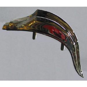 Plaque décorative sur le haut de la calandre Traction 11BL