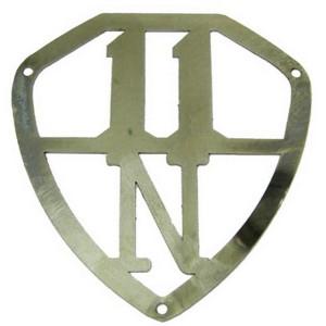 Emblème insigne de couvercle de coffre Traction 11BN
