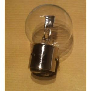 Ampoule de phare blanche ancien montage à baïonnette 6 volts 45/40W