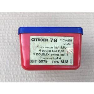 Jeu de segments pour Traction 11cv ID DS marque Goetze 78 x 2.5 x 2.5 x 4