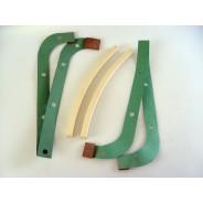Jeu de joints de carter aluminium droit et gauche avec joint de palier Traction 11 ET 11D
