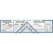 Notice de volet de boîte à gants Traction 15 cv