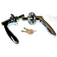 Poignées de coffre avec barillet et clé pour Traction 11 et 15cv avant Juillet 1952