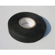 Ruban isolant autocollant en tresse coton noire pour refaire les faisceaux électriques 25 m  largeur 19mm