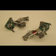 Jeu de led pour clignotants Axo blancs avec support pour Traction 11 et 15CV