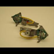 Jeu de led pour clignotants Axo oranges avec support pour Traction 11 et 15CV Pour une meilleure signalisation de la Traction