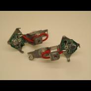 Jeu de led pour clignotants Axo rouge avec support Traction 11 et 15CV pour une meilleure signalisation la Traction
