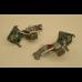 Jeu de led pour clignotants Axo blancs avec support pour Traction 11 et 15CV Pour une meilleure signalisation de la Traction